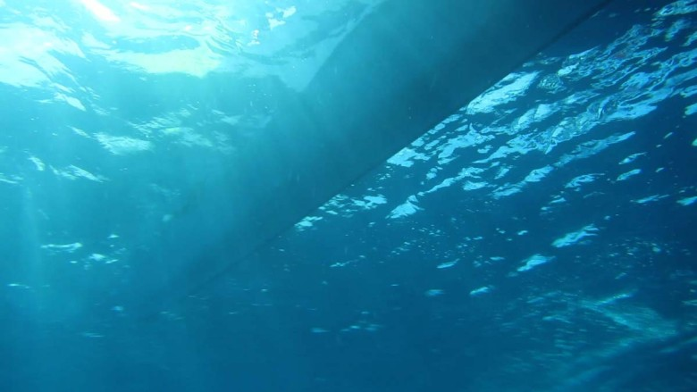 Flash in the deep blue sea